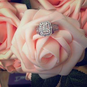 1 CTTW Diamond Ring